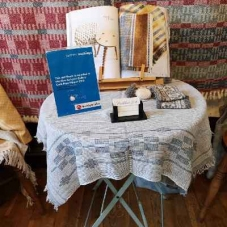 The handweaver Madeleine Jude is the New Ashgate Gallery Craft Prize at the Festival of Crafts