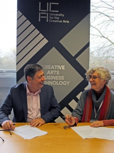 New Ashgate Gallery renews partnership with the University for the Creative Arts (UCA)