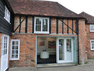 New Ashgate Gallery is located in Waggon Yard, Farnham